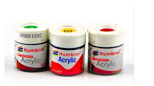 Humbrol Acrylic Rail Colour