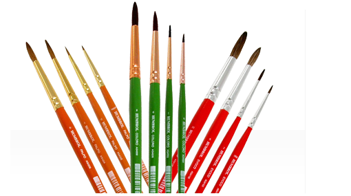 Model Paint Brushes