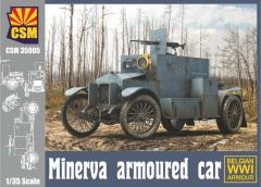 Copper State Models 1/35 Minerva Belgian armoured car WWI # 35004