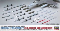 Hasegawa 1/72 Aircraft Weapons V. U.S.Missiles and launcher set # 7209