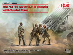 ICM 1/35 BM-13-16 on W.O.T. 8 chassis with Soviet Crew # 35592