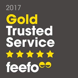eModels is a Feefo Gold Trusted Merchant 2017