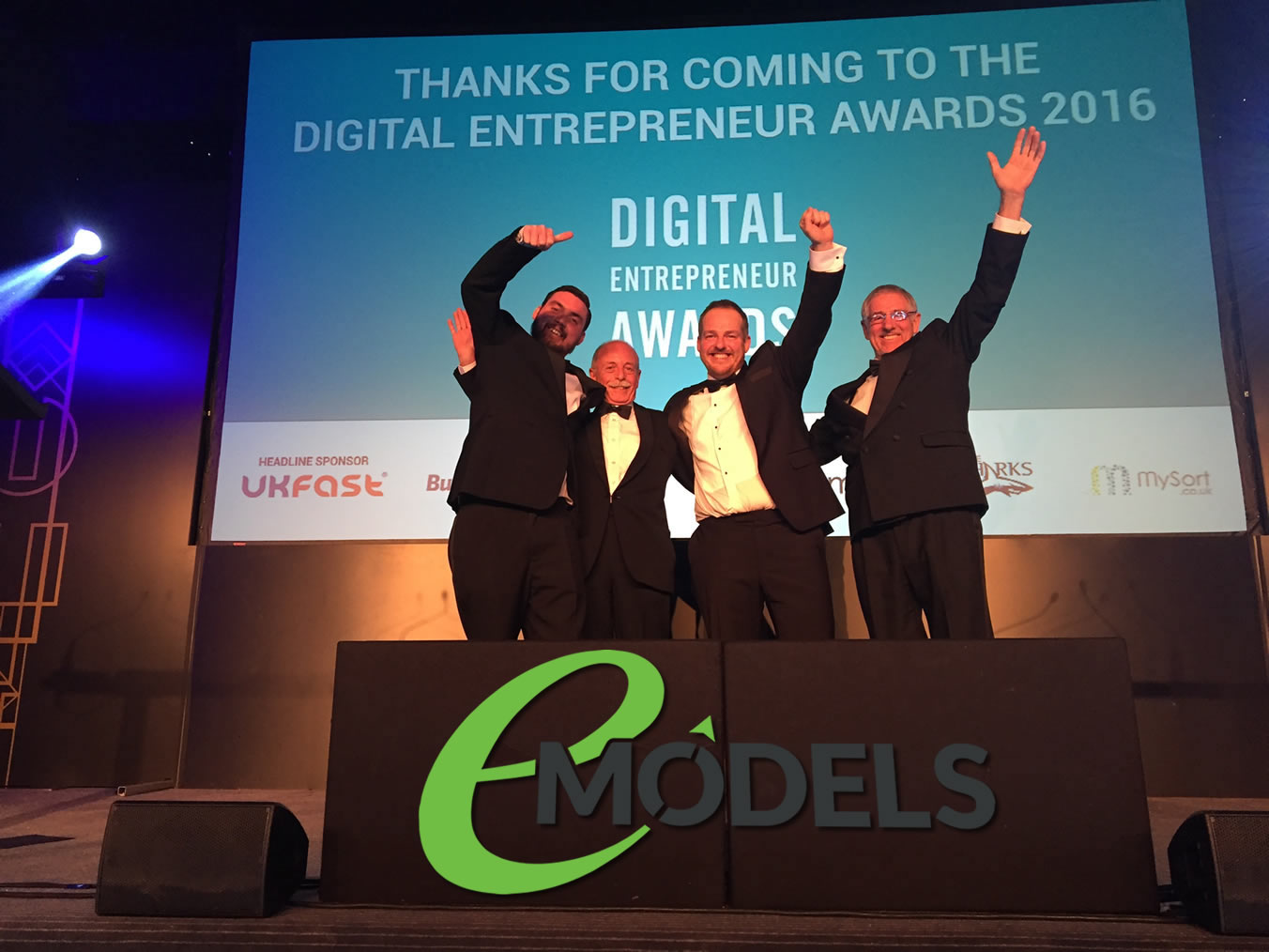 Finalists For Digital Entrepreneur Awards 2016