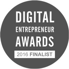 Finalists For Digital Entrepreneur Awards 2016