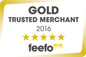 eModels is a Feefo Gold Trusted Merchant 2016