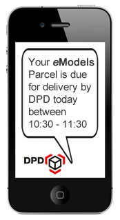 DPD Express Parcel (Next Day Delivery, Tracked & Insured)