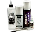 Airbrushes and Cleaners