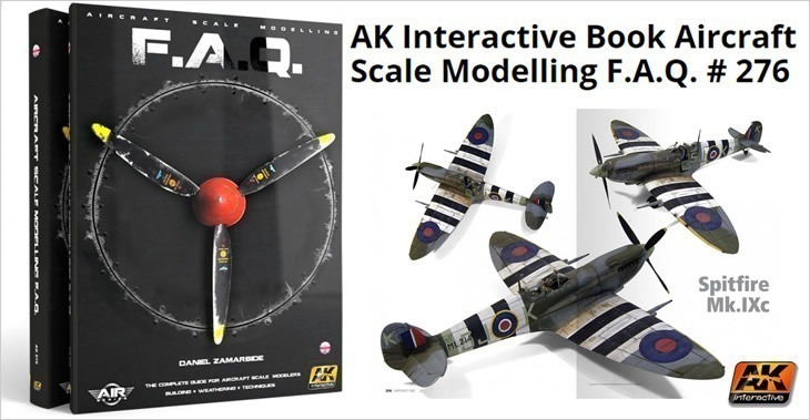 AK Interactive Book Aircraft Scale Modelling F.A.Q. # 276
