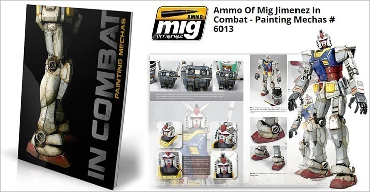 Ammo Of Mig Jimenez In Combat - Painting Mechas # 6013