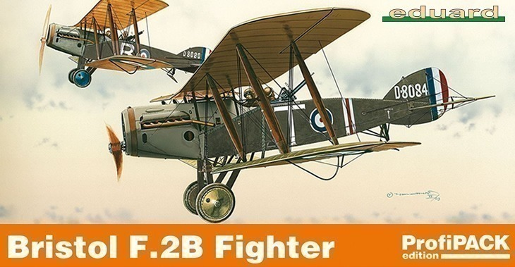 Eduard kits 1/48 Bristol F.2B Fighter ProfiPACK # 8127 - Plastic Model Kit