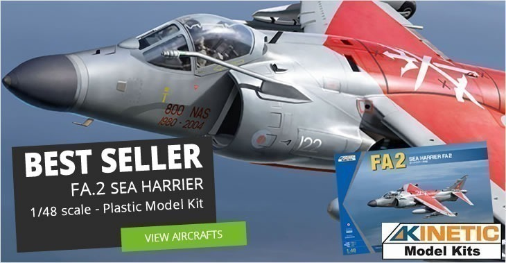 Over 8000 plastic model kits, paints and RC toys in stock