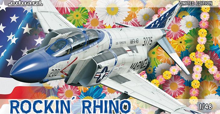 Eduard 1/48 Rockin' Rhino McDonnell F-4J Phantom II LIMITED # 1143