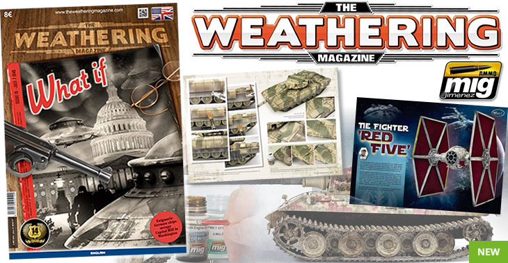 Ammo Mig The Weathering Magazine No.15. What If # 4514