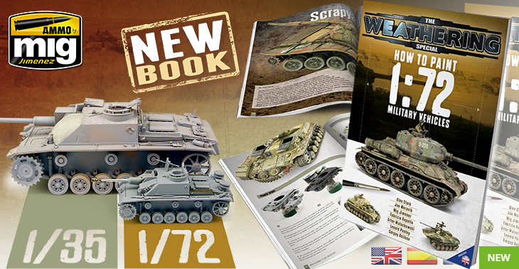 Ammo Mig - The Weathering Magazine Special: How To Paint 1/72 Military Vehicles # 6019