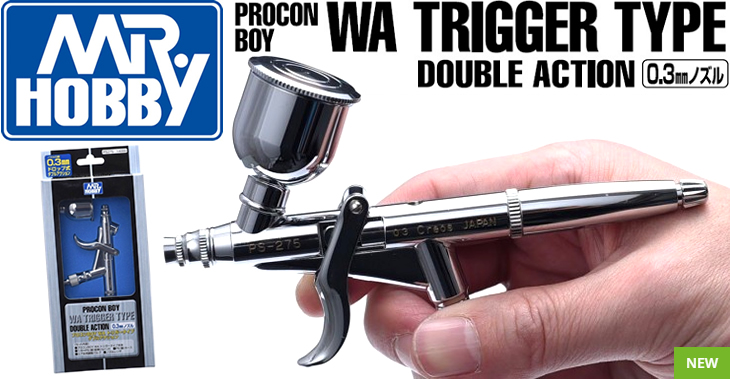 Mr Hobby Procon Boy WA Trigger Type Double Action 0.3mm # PS-275
