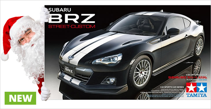 Tamiya 1/24 Subaru BRZ - Street Custom # 24336 - Plastic Model Kit