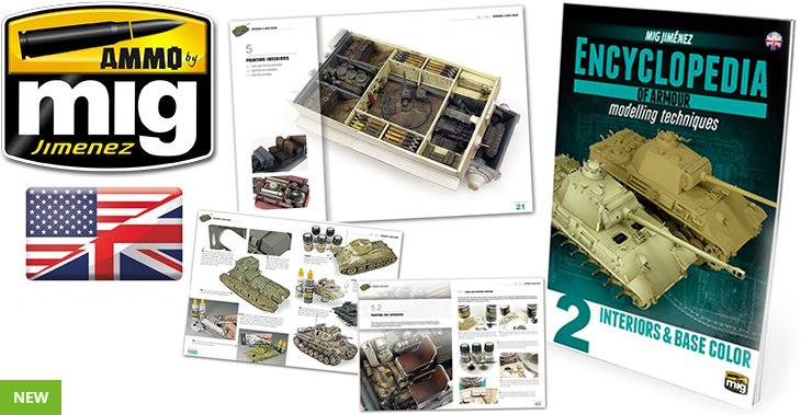 Ammo Mig Encyclopaedia of Armour Vol.2 Interiors & Base Colour