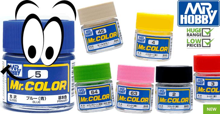 Mr Color - Mr Hobby Paints