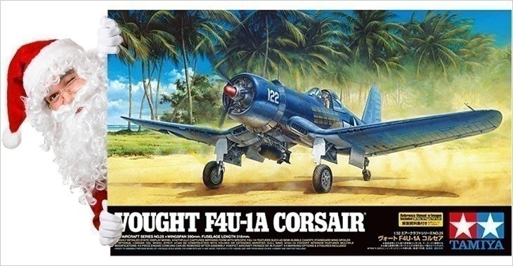 Tamiya 1/32 Vought F4U-1A Corsair # 60325 - Plastic Model Kit