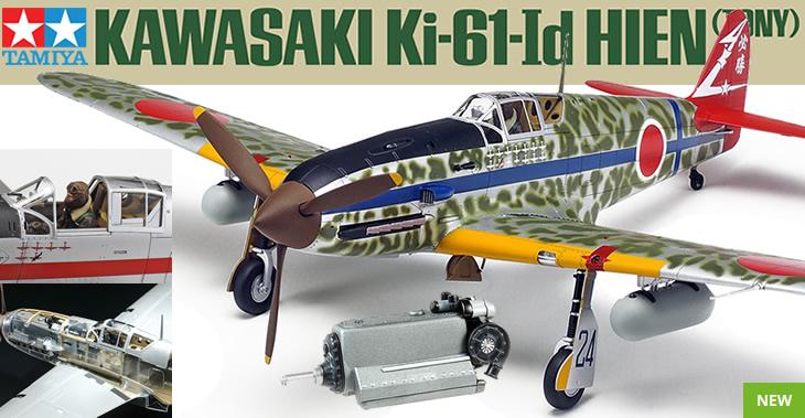 Tamiya 1/48 Kawasaki Ki-61-Id Hien (Tony) # 61115