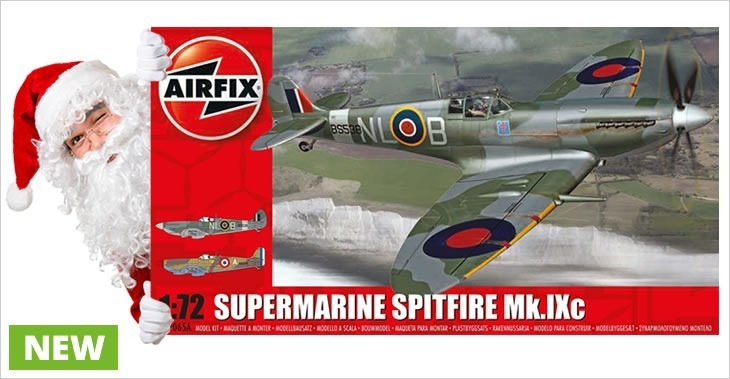 Airfix 1/72 Supermarine Spitfire MkIXc # 02065A - Plastic Model Kit