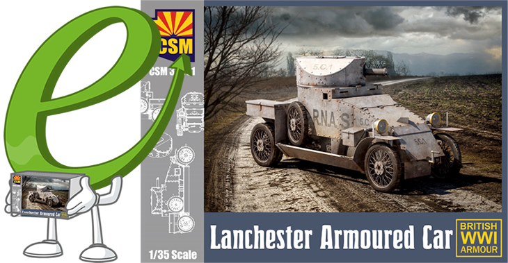 Copper State Models 1/35 Lanchester armoured car # 35001