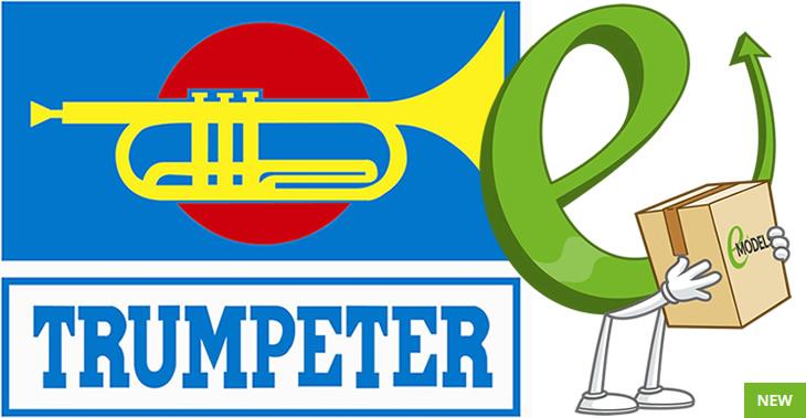 New Trumpeter Plastic Model Kits March 2018