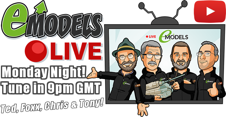 Monday Night! Tune in 9pm GMT