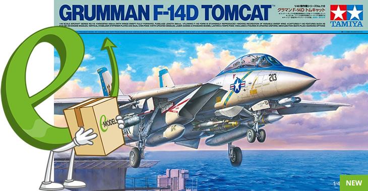 Tamiya 1/48 Grumman F-14D Tomcat™ # 61118