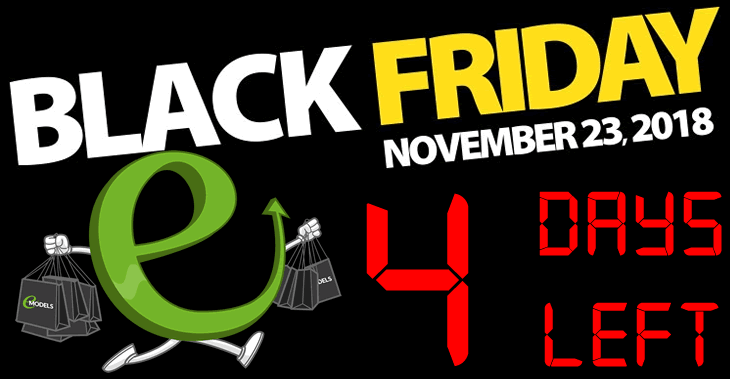 The Black Friday Promotions will begin at 12.00am on 23rd November 2018