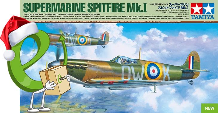 Tamiya 1/48 Supermarine Spitfire Mk.I # 61119
