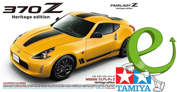Tamiya 1/24 Nissan 370Z Heritage Edition # 24348