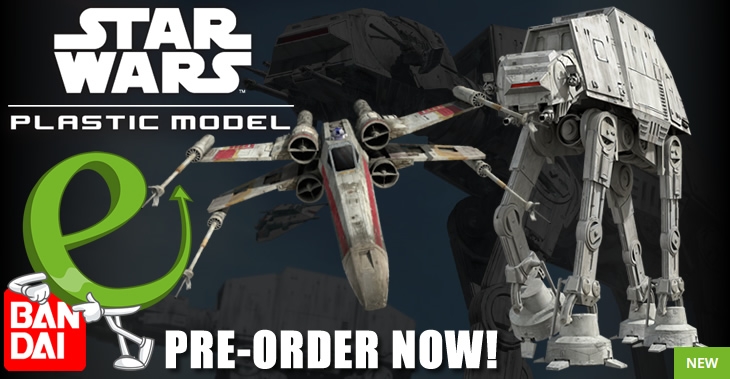Bandai Star Wars from Revell Selling Out Fast