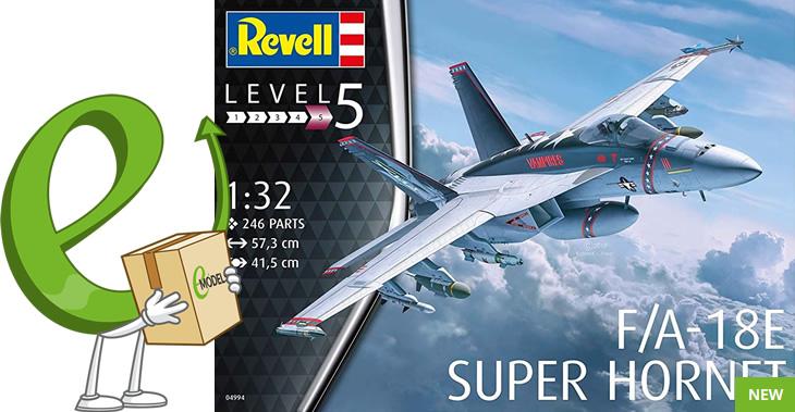 Revell 1/32 F/A-18E Super Hornet # 04994