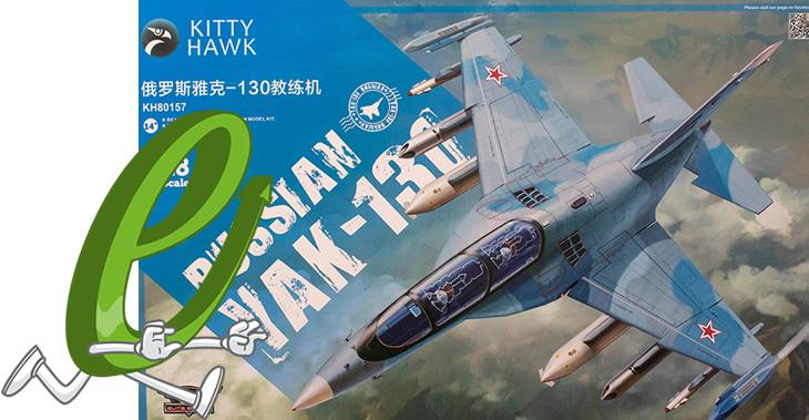 Kitty Hawk Model 1/48 Yak-130 # 80157