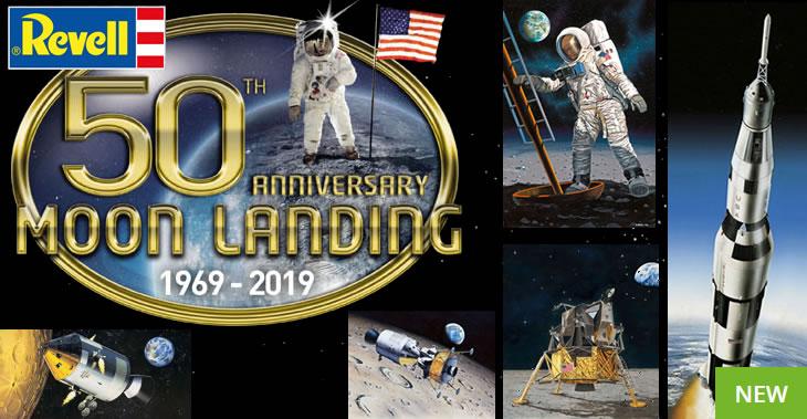 Revell 50th Anniversary Moon Landing 1969-2019 Classics