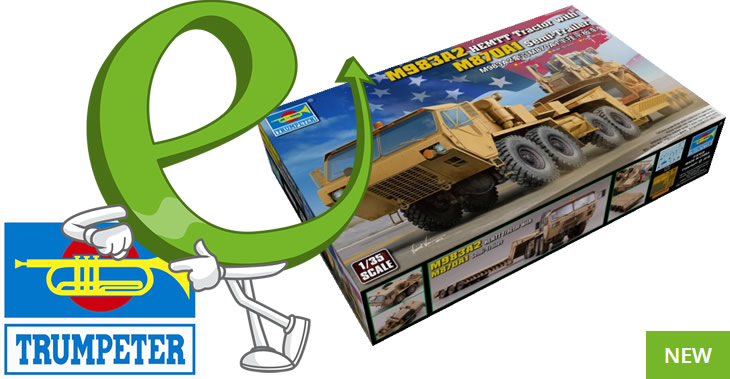 New Trumpeter Plastic Model Kits