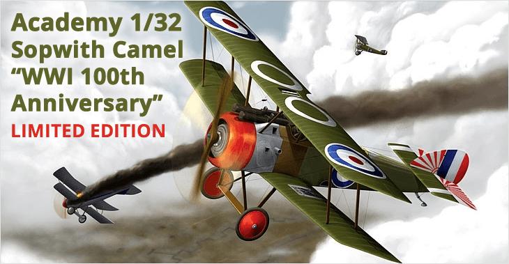 Academy 1/32 Sopwith Camel