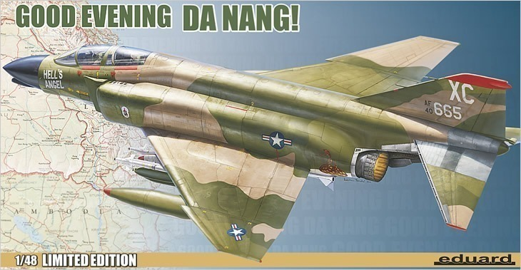 Eduard 1/48 Limited Edition Good Evening Da Nang # 1193 - Plastic Model Kit