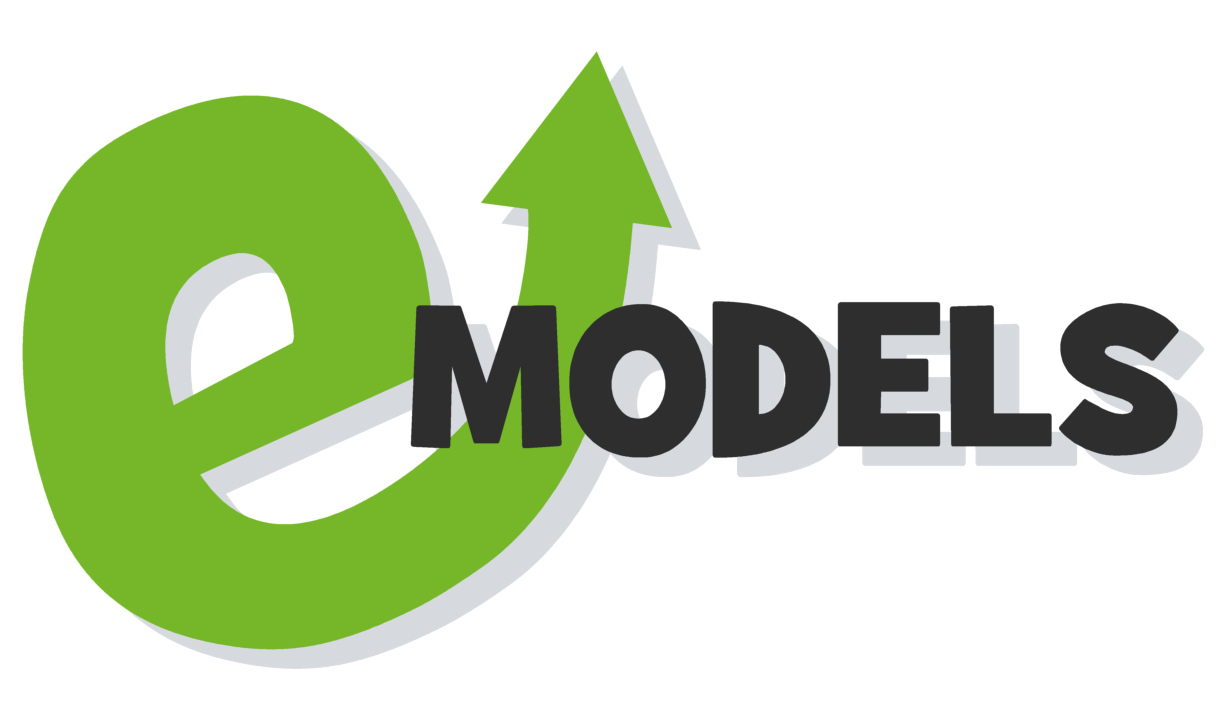 eModels Cartoon logo