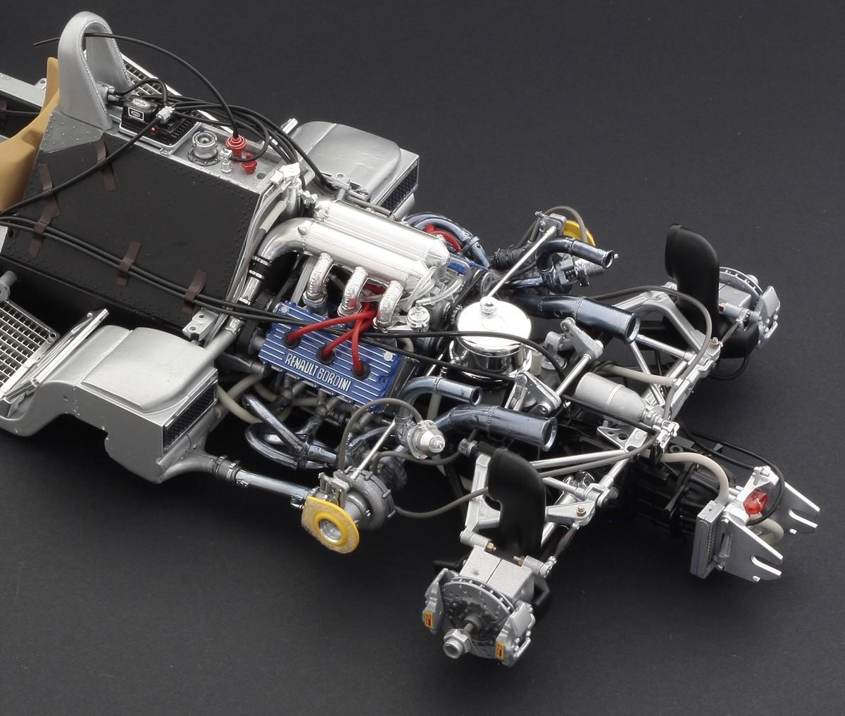 Italeri 1/12 RENAULT RE 20 Turbo # 4707