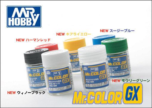 Mr Color GX Enamel Paints