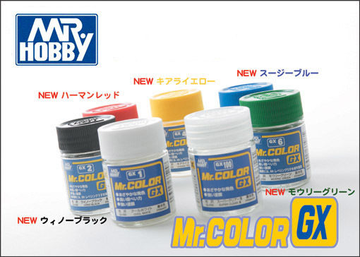 Mr Color GX 18ml Enamel Gloss Paint