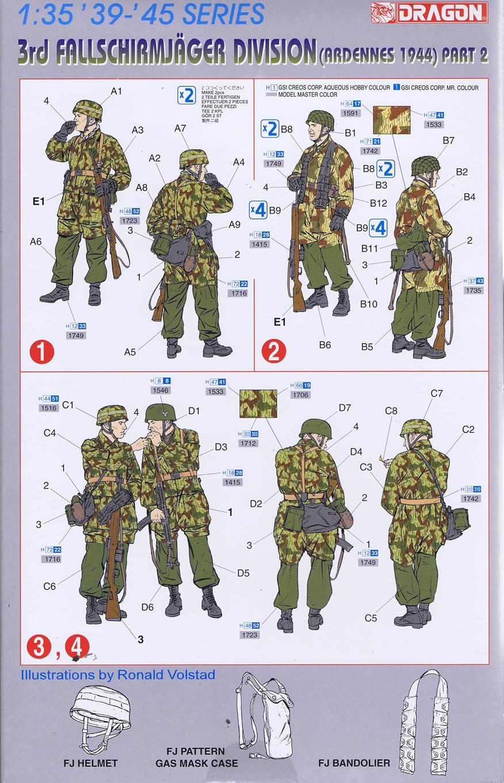 Figuren KöniG's Fallschirmjäger DRG6143ppic1