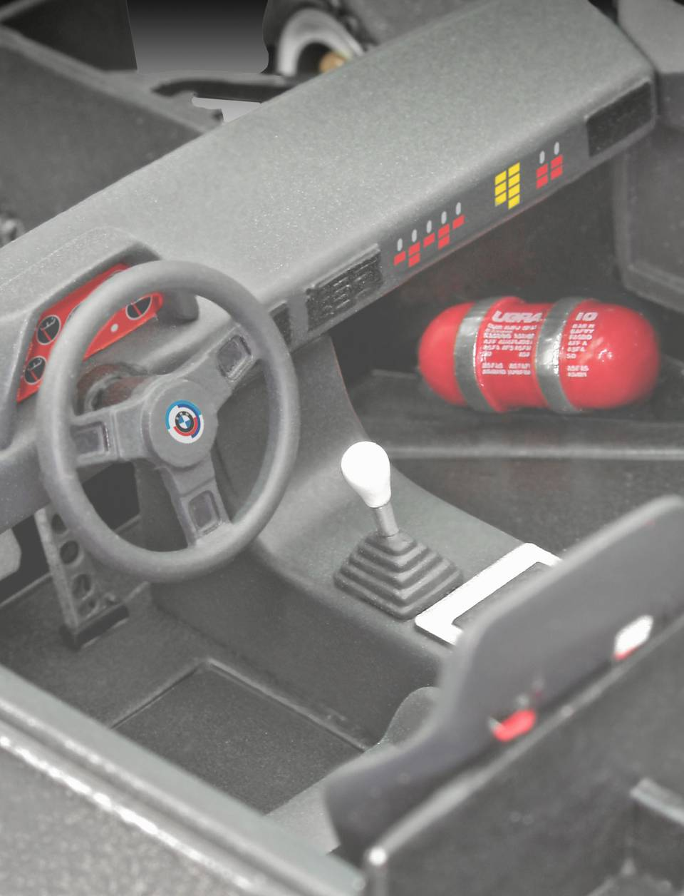 Revell 1/24 BMW M1 Procar # 07247 - Plastic Model Kit