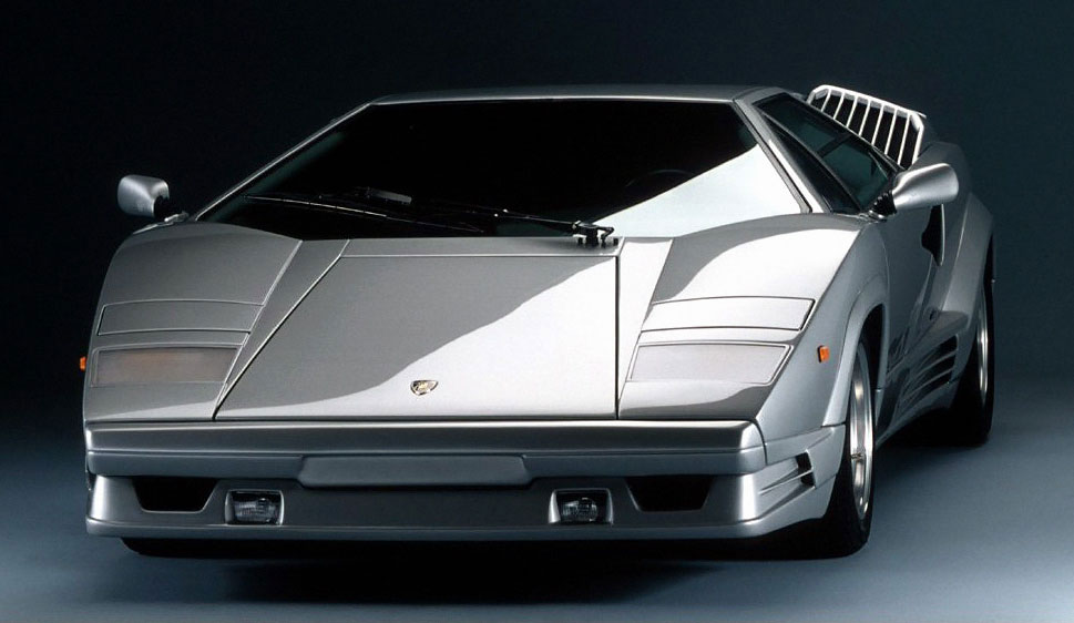 Fujimi 1 24 Lamborghini Countach 25th Anniversary 12411 Limited
