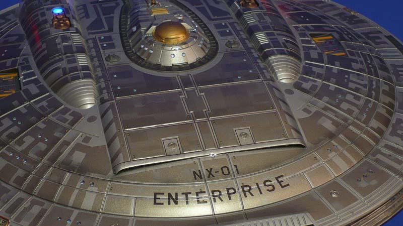Polar Lights 1/350 Star Trek Enterprise NX-01 # 902 - Plastic Model Kit
