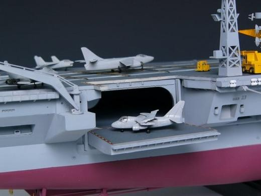 trumpeter 1350 us nimitz class aircraft carrier 05605 plastic model kit
