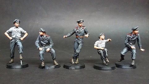 miniart 1 35 german tank crew france 1940 35191 model figures