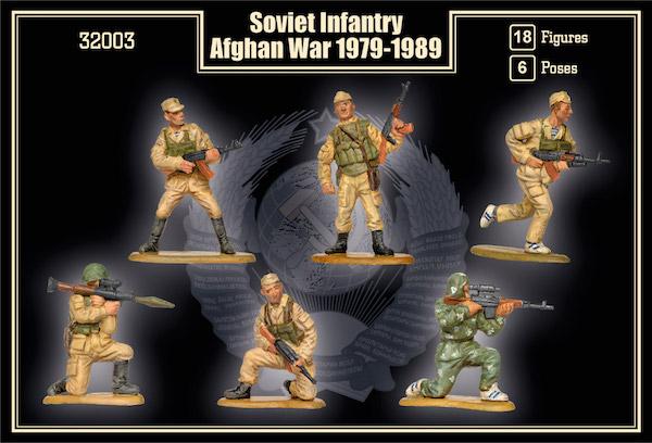 Mars 1/32 Soviet infantry Afghan war 1979 -1989 # 32003 - Model Soldiers